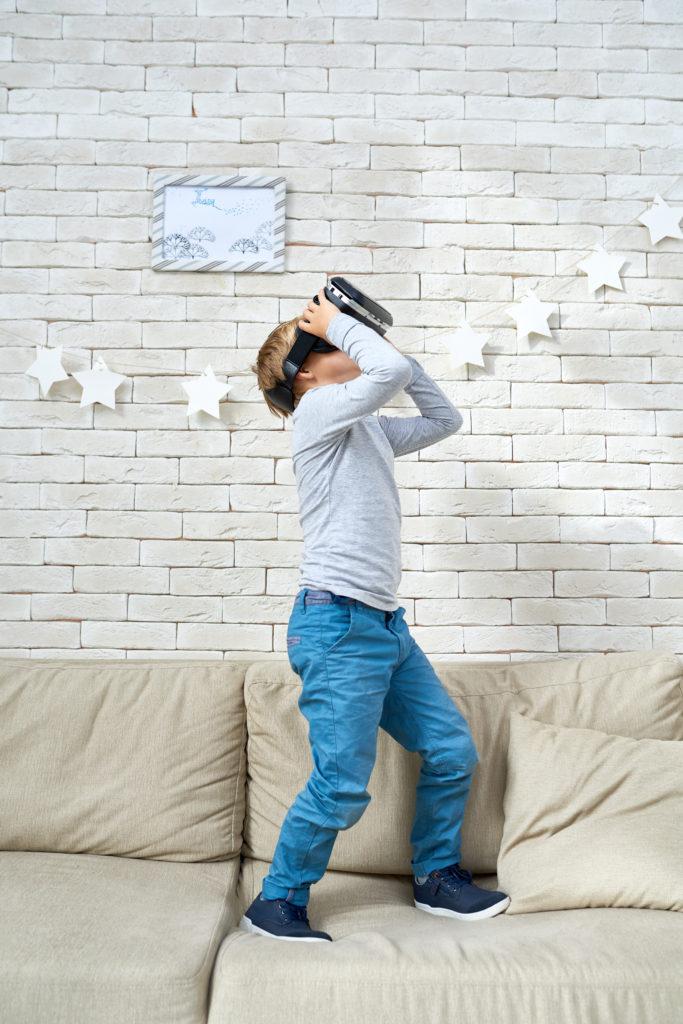 Enfant réalité virtuelle