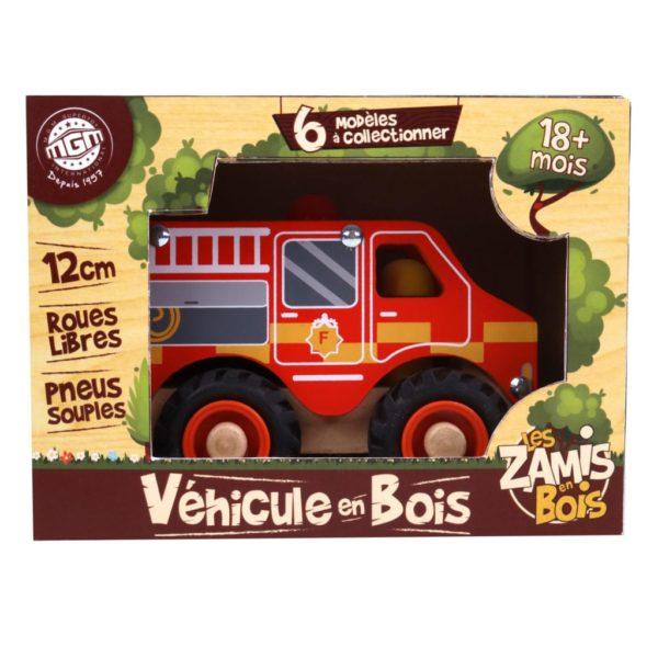 véhicule en bois nos marques MGM jouet