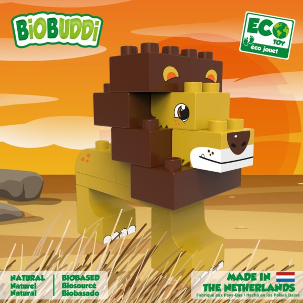 biobuddi lion savanna nos marques MGM jouet